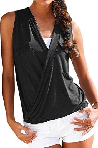 KAKALOT Womens Front V Neck Sleeveless product image