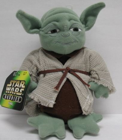 Amazon.com: Yoda de Star Wars felpa Buddies cifra: Toys & Games