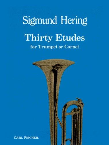 O5184 - Thirty Etudes for Trumpet or Cornet