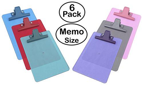 Acrimet Clipboard Premium Plastic Assorted