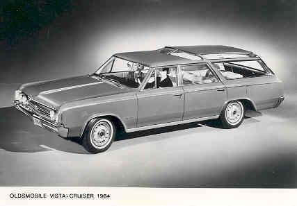 - 1964 Oldsmobile Vista Cruiser Station Wagon Photo Poster