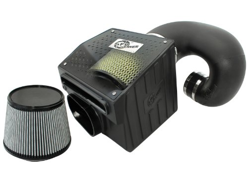 aFe Power Magnum FORCE 75-80072 Dodge Diesel Trucks 94-02 L6-5.9L (td) Performance Intake System (Oiled, 7-Layer Filter)