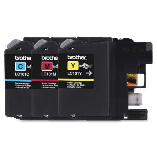 Brother International Corporat 3-Pack Of Innobella Standard Yield Color Ink Cartridges (1 Each Of - By