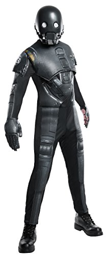 Rogue One: A Star Wars Story Men's Deluxe K-2SO Costume, Multi, Standard