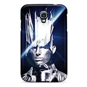 Samsung Galaxy S4 Gpv1174YZKX Unique Design Realistic Muse Band Pattern Shock Absorbent Hard Phone Covers -AaronBlanchette