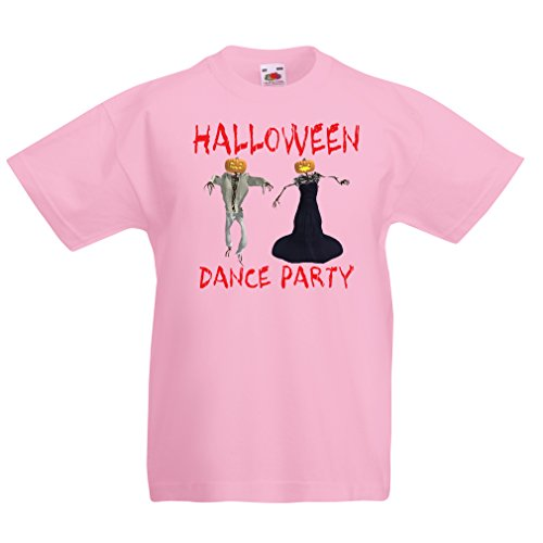 (T Shirts for Kids Cool Outfits Halloween Dance Party Events Costume Ideas (5-6 Years Pink Multi)