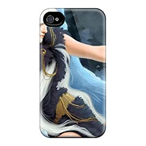 New Style Warrior Babe With Pet Owl Premium Covers Cases For Iphone 6