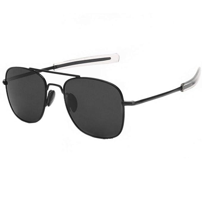 a649302aa1b Mens Womens Polarized Avaitor Sunglasses Ultra Lightweight Rectangular Frame