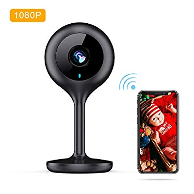 MECO WiFi IP Camera Wireless 1080P HD Home Wireless Security Camera with Night Vision, Sound & Motion Detection, Security Surveillance Pet Baby Monitor - Cloud Service Available Thanksgiving Christmas