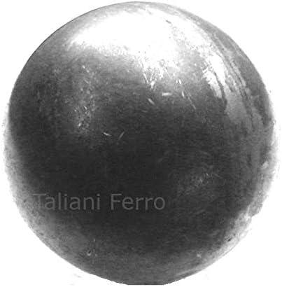 Esfera lisa en hierro crudo. Diámetro 50 mm.