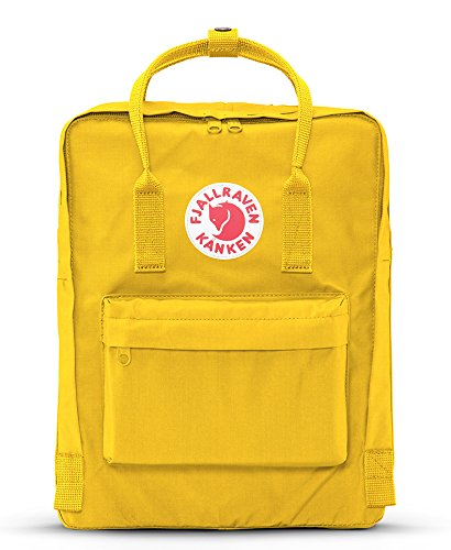 Fjallraven - Kanken Classic Pack, Heritage and Responsibility Since 1960,One Size,Warm Yellow