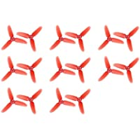 8 x Quantity of Walkera Rodeo 110 FPV Racing Quadcopter Rodeo 110-Z-01 Three Blade Propellers Props Main Rotor Blades Parts 70mm Diameter