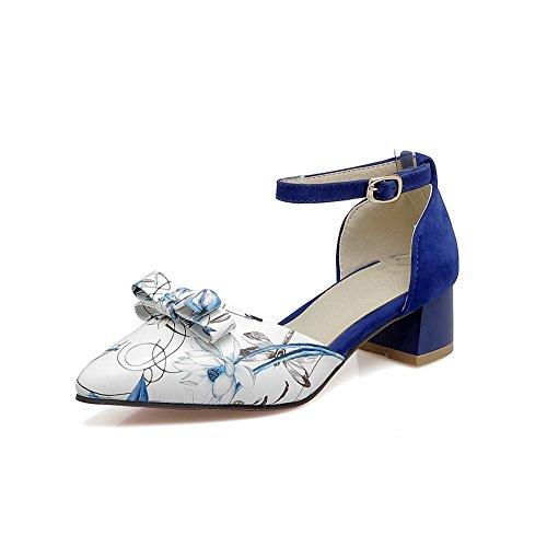 BalaMasa Femme Femme Compensées Compensées Sandales BalaMasa Bleu BalaMasa Bleu Sandales rranFE1A