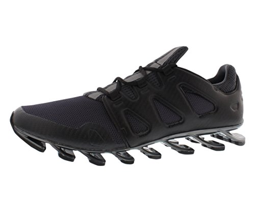 adidas Men's Springblade Pro Dark Grey/Iron Metal/Black Synthetic Running Shoes 7.5 M US