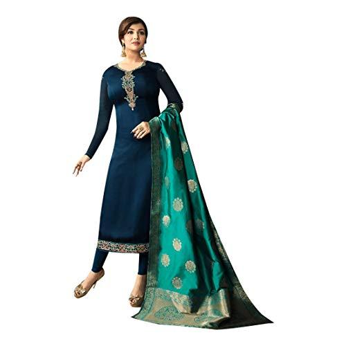 donne abito designer formale salwar per Bollywood dritto takia EMPORIUM formale pakistano ETHNIC personalizzato misurare dritto indiano banarasi salwar vestito ayesha dupatta 752 vestito POHq6xa