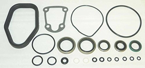 Johnson Evinrude Lower Unit Seal Kit 70 Hp 1978-Up WSM 446-106 OEM# 0396349, - Seal Johnson Evinrude
