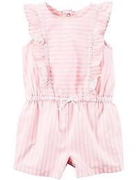 Carter's Baby Girls' Stripe Romper