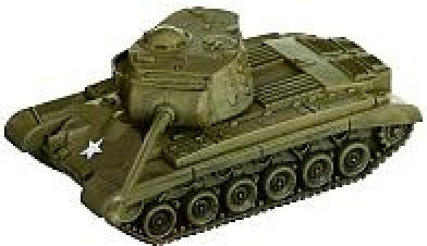 Axis and Allies Miniatures: M26 Pershing # 30 - 1939 - 1945 (1945 Allies Miniatures 1939 Axis)