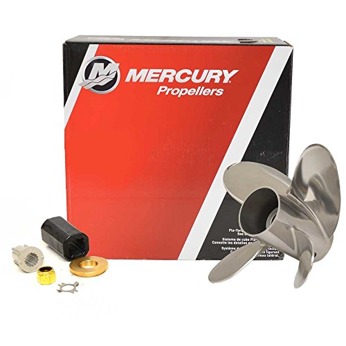 Mercury Trophy Plus 13-3/4 x 21 Pitch Stainless Steel 4-Blade Propeller
