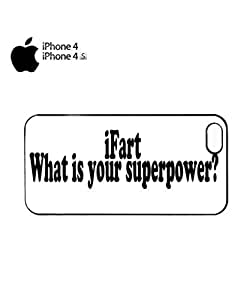 iFart What is Your Superpower Mobile Cell Phone Case Cover iPhone 4&4s White