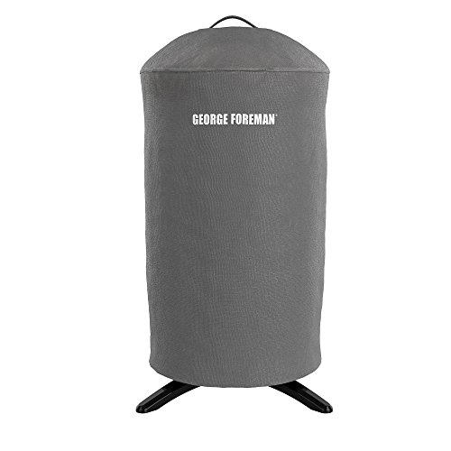 George Foreman GFA0240RDCG Round Grill Cover, Gray (Best George Foreman Indoor Outdoor Grill)