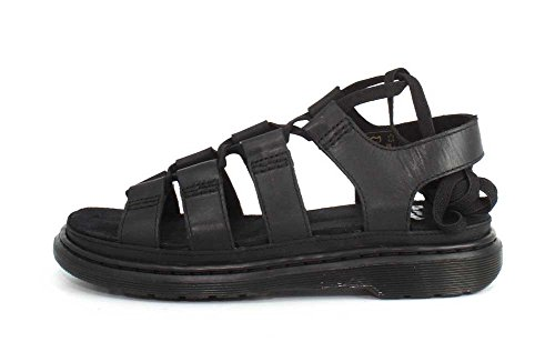 Dr.Martens Womens Kristina Leather Sandals Schwarz