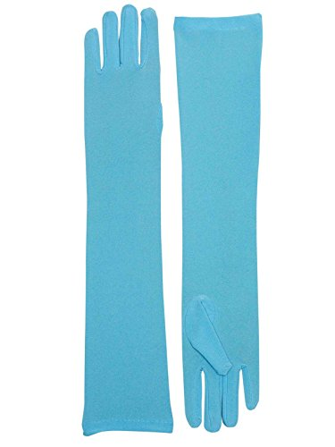 Forum Novelties Long Nylon Gloves (Lightblue) Adult Accessory]()