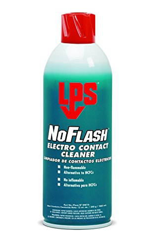 Electro Cleaner Lps Contact (LPS NoFlash Electro Contact Cleaner, 12 oz Aerosol (Pack of 12))