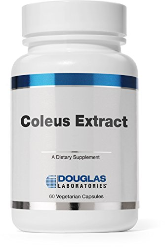 Douglas Laboratories® - Coleus Extract - Supports Metabolic and Hormonal Processes and Reduction of Body Fat* - 60 Capsules