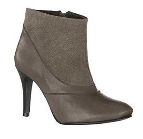 Ankle boot from fine Suede and Nappa leather - Colour Grey Grey 9IUJcoew8
