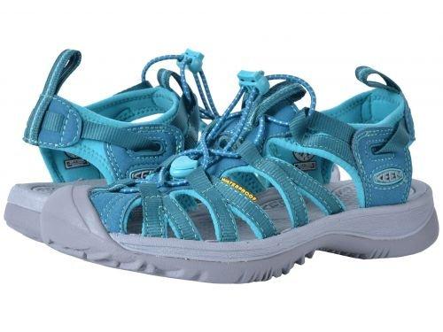 Keen(キーン) レディース 女性用 シューズ 靴 サンダル Whisper - Blue Coral/Baltic [並行輸入品]