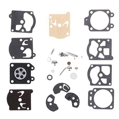 Forgun Carb Carburetor Diaphragm Gasket Needle Repair Kit for Walbro Series K10-WAT ()