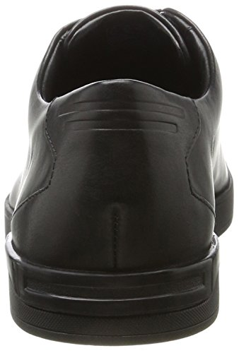 Black Leather Clarks Stanway Homme Stanway Brogues Lace Clarks Noir q0RwqOr8