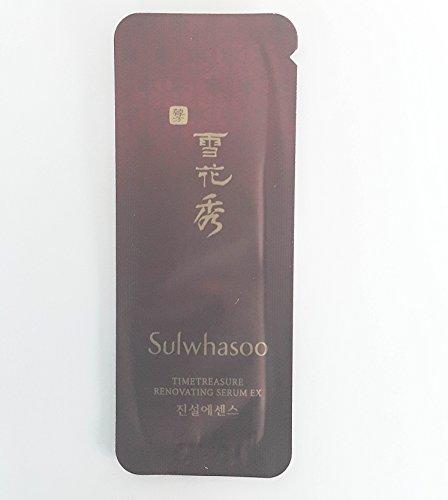 30 X Sulwhasoo New Sample Timetreasure Renovating Serum EX 1
