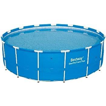 steel pro 15 x 48 frame pool set