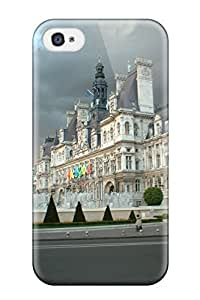 BtfJiog7172hjDXY City Of Paris Fashion Tpu 4/4s Case Cover For Iphone