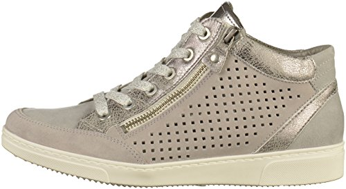 Titan Seattle Grau Collo a Alto Sneaker Donna Jenny vwUqfZCn