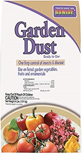 Bonide Chemical 933 Number-4 Garden Dust, 4 lb Bag
