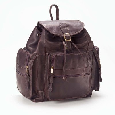 - Clava XL Leather Backpack - Backpack - Leather - Vachetta Cafe - Vachetta Cafe