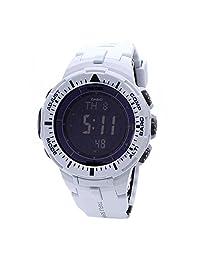 Casio Mens Pro Trek TWIN SENSOR COMPASS Analog-Digital Dress Solar Watch (Imported) PRG-300-7D