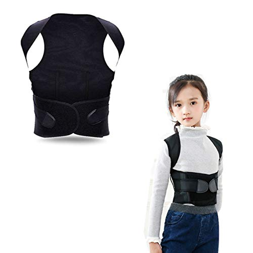 (Back Posture Corrector, Posture Corrector for Women and Kids Men, That Provide Back Support Brace,Improve Thoracic Kyphosis ,Under Clothes Comfortable Clavicle Correct Brace Shoulders Belt Support)