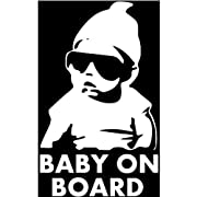 Baby on Board Car Window Sticker Decal Many Colors Available