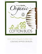 Simply Gentle Organic Cotton - Pack of 200 Buds