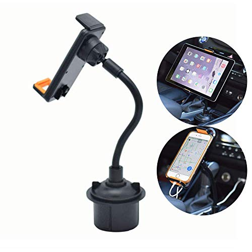 - CHAMPLED 2-in-1 Tablet and Smart Phone Car Holder Cradle Stand Drinks Cup Mount Long arm Neck Flexible Adjustable Gooseneck fits Pontiac Aztek 6000 Bonneville G3 G5 G6 G8 Grand Am Prix Lemans Montana