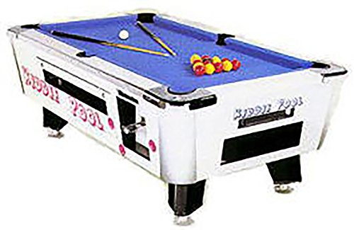 Great American Kiddie Pool 6 ft Coin Operated Pool Table with Accessories