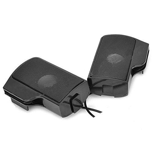 Cikuso USB Haut-Parleur Portable de Stereo Clip-on de Barre de Son pour Ordinateur Portable Tablet PC