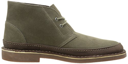 Clarks Mens Bushacre Rand Chukka Boots Taupe Suede