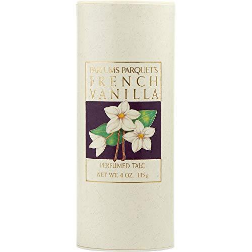 Vanilla Talc - FRENCH VANILLA by Dana TALC 4 OZ for WOMEN ---(Package Of 4)