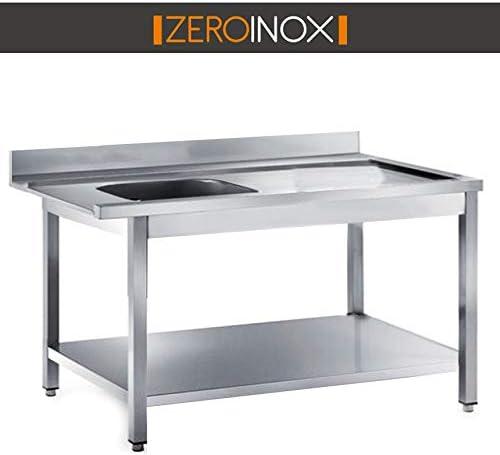 ZeroInox Mesa Salida con bañera – Profundidad 75 – Todas Las ...