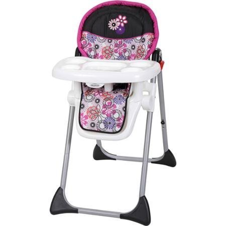 Durable Baby Trend Sit Right High Chair, Floral Garden by Ba